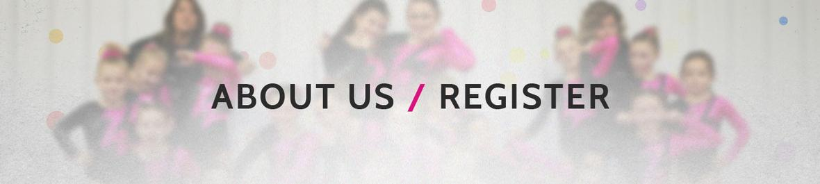 Banner picture for About Us and Registration page for Tumble n' Fly Academy