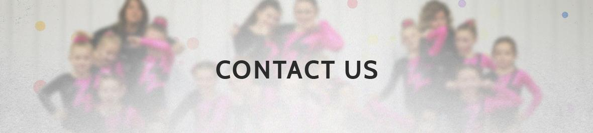 Banner picture for Contact Us page for Tumble n' Fly Academy