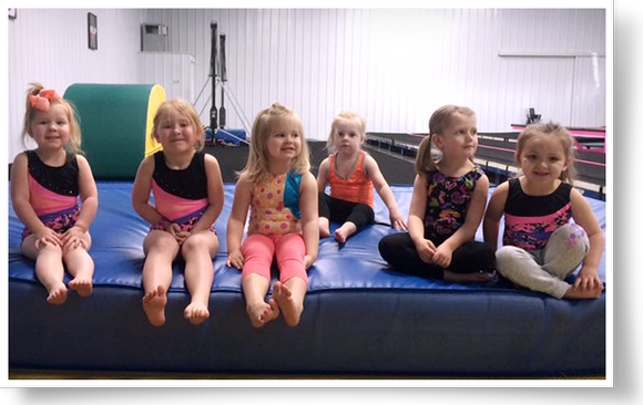 Picture of small tumblers at Tumble n' Fly in Taylorville, Illinois